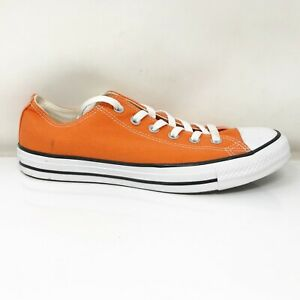 Converse Mens Chuck Taylor All Star 164701F Orange Running Shoes Size M 8 W 10