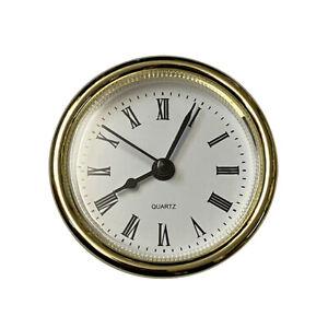 New Quartz Replacement Bezel Clock Insert - Sizes Option - Clip Fit & Rubber Fit