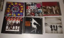 6 U2 CDS: ZOOROPA, RATTLE & HUM, ACHTUNG BABY, UNFORGETTABLE FIRE, ALL THAT ....