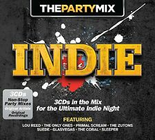 PARTY MIX INDIE (LOU REED, The Only Ones,Big Audio Dynamite) 3 CD NEU