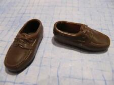 Grandfather Grandpa Ken DOLL Clothes:   BROWN LOAFER SHOES  (MIDGE Happy Family)