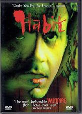 Habit (DVD, 1999) Vampire horror movie - Glass Eye Pix