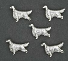 "Dog - Irish Setter Conchos / Concho 1"" x 1 3/8"" 5 Total"