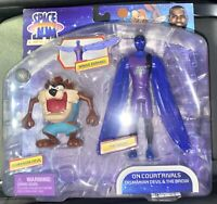 """SPACE JAM A NEW LEGACY 5"""" Tasmanian Devil Taz The Brow 2 Figure Pack NEW IN HAND"""