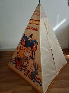 Kinder Indianer Zelt Spielzelt Yakari 95x95x125