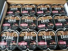 114 Packs Crave 1.32 OZ Salmon Pate Cat Food = 228 Single Servings VALUE PACK