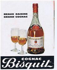 PUBLICITE ADVERTISING 104 1968 BISQUIT grand cognac