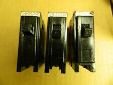 Westinghouse Circuit Breaker BA150 Type BA 1 POLE 50A 50 A Amp Lot of 3 Used