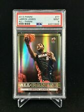POP 2 (Highest Grade) PSA 9 LEBRON JAMES 2013-14 Panini GOLD All-Panini SSP #77
