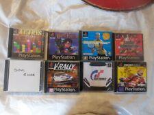 Play Station DVD V-Rally2 Harry Potter GT2 SC Tennis Soul River Tetris2 Ducati W