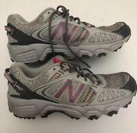 New Balance Women's 412 Gray Mesh Trail Running Shoes  WTE412P1 Sz 9 B