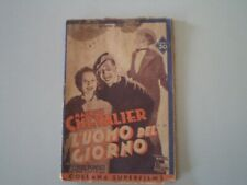 CINEROMANZO MAURICE CHEVALIER L'UOMO DEL GIORNO - 1937 ED. IMPERO