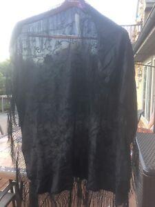 Ralph Lauren Putple Label Designer Evening Scarf Silk NWT