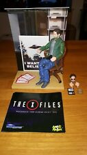 X-Files figurine diorama agent Mulder FBI scène collector