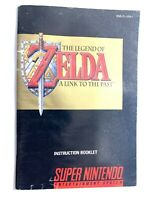 Zelda A Link To The Past SNES Instruction Manual Booklet NO Super Nintendo Game