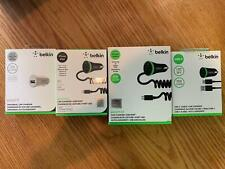 OEM Belkin Boost Up Car Charging Kit Lightning / USB-C / Micro-USB / No Cable
