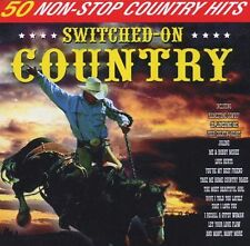 Switched On Country - 50 Non Stop Country Hits - CD - BRAND NEW SEALED