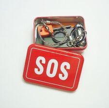 Boite Kit  Trousse Survie Ultimate Neuf SOS Survival First Aid Box  Zombie 5 Ele