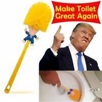 Donald Trump hand made Toilet Bowl Brush Funny Gag Gift Christmas Xmas Hot RX