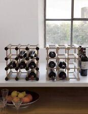Cantina cantinetta portabottiglie modulare il legno 12 bottiglie espositore new