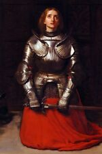 New 5x7 Photo: French Heroine Joan of Arc, The Maid of Orleans, by John Millais