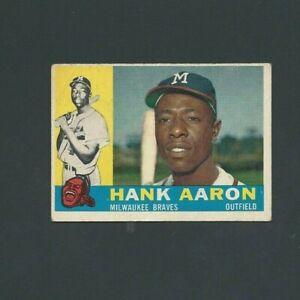 1960 Topps Hank Aaron #300