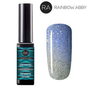 Temperature Color Change Thermal Nail Gel Polish Soak Off Manicure Lacquer #5746