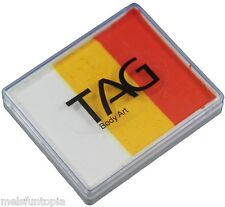 TAG Body Art 50g Rainbow Cake - Tiger, Face and Body Paint, Make-up, Party