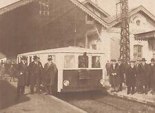 G2096 France - La Pauline en gare d'Arcachon - Animé - Stampa - 1932 Old print