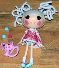 """13"""" Lalaloopsy Suzette La Sweet,  White Silly Hair, Clothing, Shoes, Pet, Clips"""