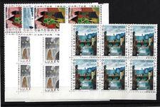 LUXEMBOURG SG750/5, 1964 NATIONAL WELFARE FUND MNH BLOCKS OF SIX