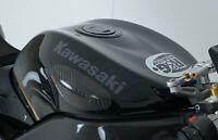 Kawasaki ZX10R ZX-10R 2004-2007 R&G Racing Carbon Fibre Tank Sliders | TS0013C