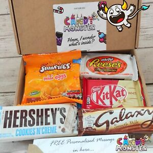 Personalised REESES Chocolate Sweet Hamper Gift Box Present HERSHEY Birthday