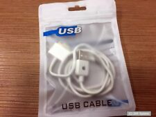 Original APPLE 30 pol. USB 1m Kabel MA591G/C, Weiß / White, Dock Connector, OVP