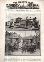 1917 London News May 19 - Free Russia is born - Tsar is arrested and held; Arras
