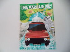advertising Pubblicità 1984 RANGE ROVER