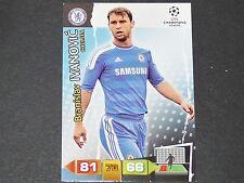 IVANOVIC CHELSEA BLUES UEFA PANINI CARD FOOTBALL CHAMPIONS LEAGUE 2011 2012