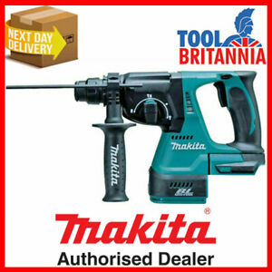 Makita DHR242Z 18V Cordless 24mm SDS Plus Rotary Hammer Drill Body Only