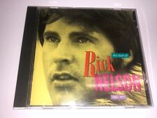 The Best of Rick Nelson 1963-1975 CD MCA Records 1990 USED Columbia House club