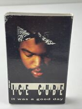 Ice Cube - It Was A Good Day Cassette Single 1992 Priority Records