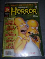 Bart Simpson's Treehouse of Horror #7 (2001) NM  Hamill - Ennis - Sakai