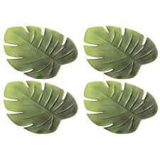 """Boltze 1002856 Tischset """"Blatt Ficus"""" Kunststoff, 48 x 38 cm, grün (4 Stück)"""