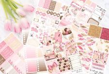 Planner Addict Vertical Weekly Kit Planner Stickers for Erin Condren Planners UK