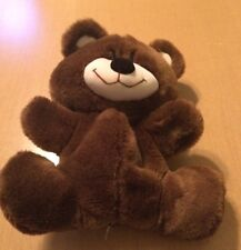 Applause Brown Bear Puppet From 1986 9""