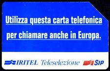 G 280 C&C 2322 SCHEDA TELEFONICA USATA IRITEL ORIZZONTALE 5 12.95 BUONA QUAL.