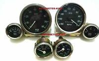 Smiths Replica Kit- Elec Temp + Oil + Fuel +Volt Gauge+Speedometer +Tacho 100 mm