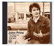 JOHN PRINE, LIVE at the Music Inn, Aug 25 1973, on CD