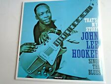 JOHN LEE HOOKER That's My Story LP new mint sealed vinyl 2020 new release!