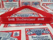 New Vtg 1980's Budweiser Beer Pool Balls Table Rack Bar Sign No Motion Light Wow
