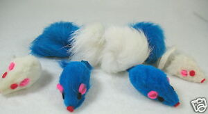 8 holiday HANUKKAH fur ball mice cat toy toys gift H2